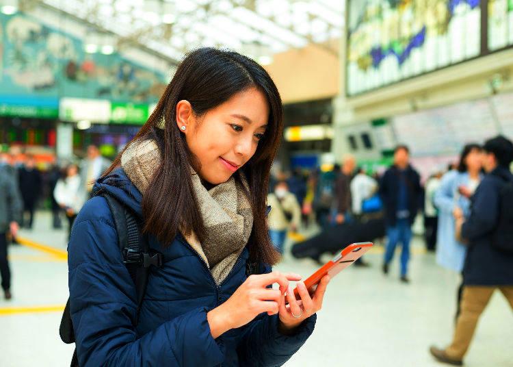 4. Get Free Wi-Fi in Japan