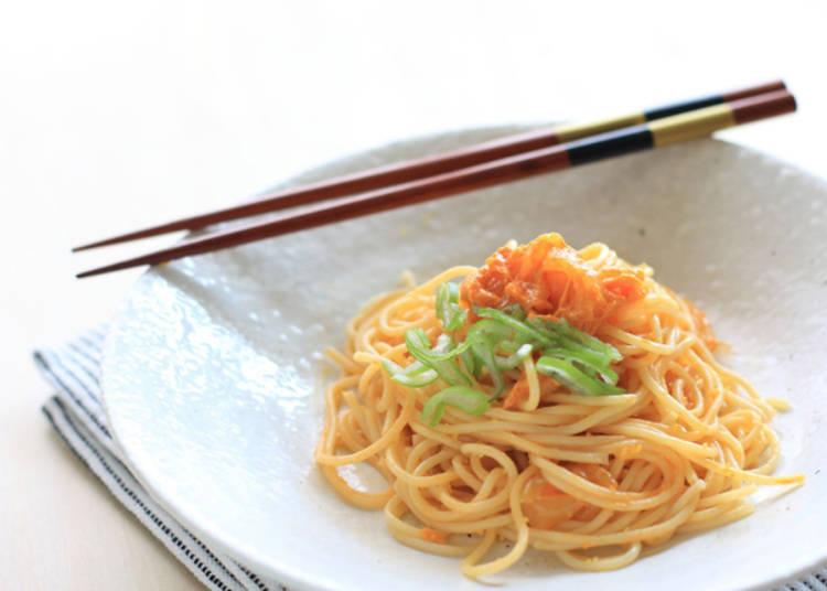 2. Uni (Sea Urchin) Wafu Pasta