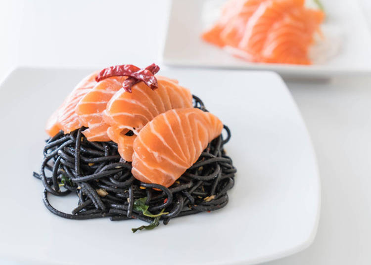 8. Sashimi Wafu Pasta