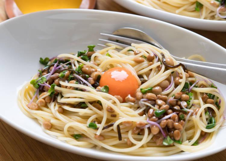 12. Natto Wafu Pasta