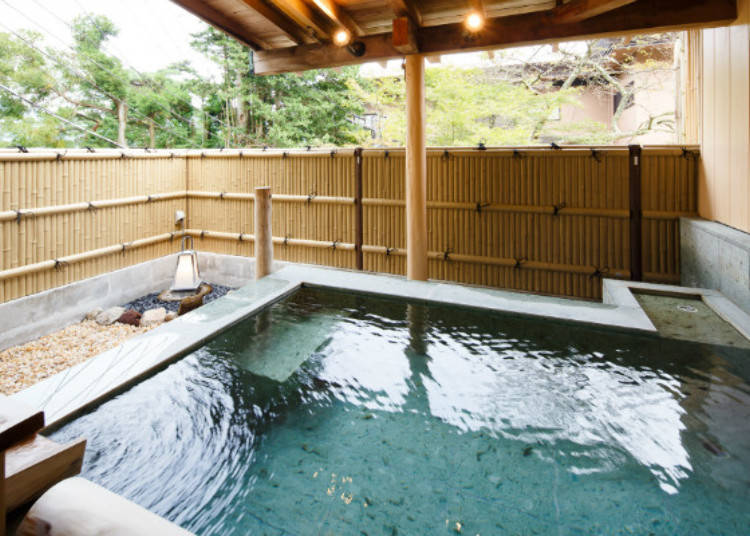 Soak Your Body in the Hot Spring Bath