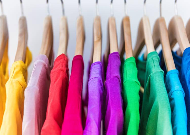 5:フランス人はカラフルな色が好き