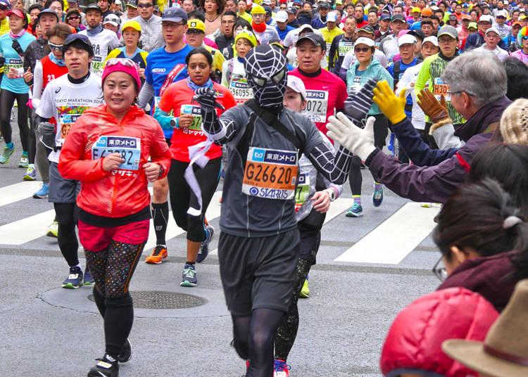 Enjoying the Spotlight - The Runners