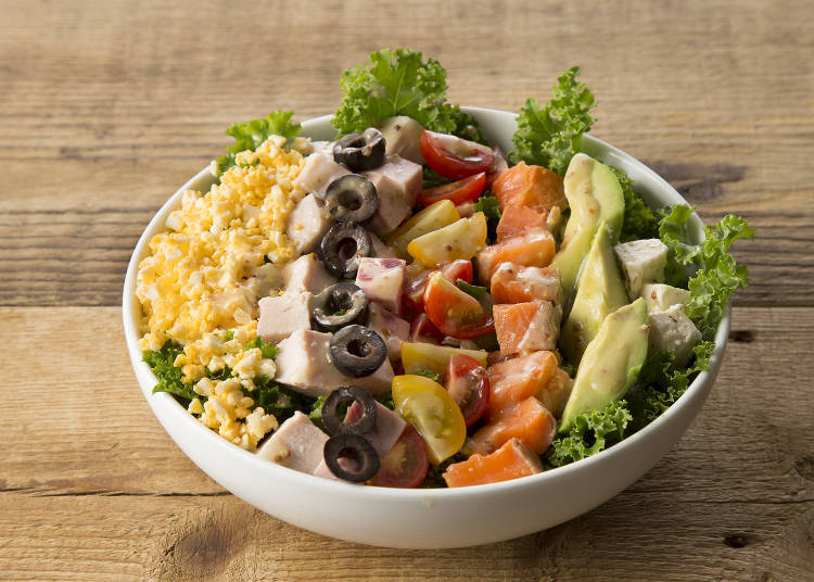 Mr. Farmer Shinjuku Mylord offers healthy vegetable dishes from the morning!