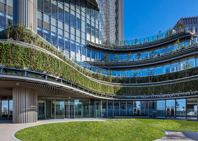 Tokyo Midtown Hibiya: Beautiful Office Space and Metropolitan Oasis (Open from March 29, 2018)