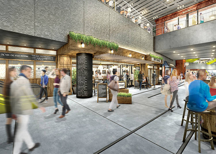 Shibuya Stream: An All-New Waterside Space South of Shibuya Station (Open from Autumn 2018)