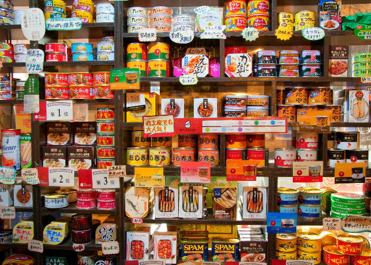 1. Mr. Kanso – Bar located in Okachimachi near Ueno has over 200 types of canned snacks!