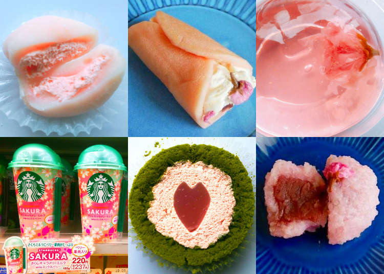 Cherry Blossom Season! Celebrate with Tasty Sakura Sweets at Japan's Convenience Stores