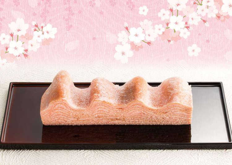 蛋糕也染上春天氣息!東京旅遊伴手禮定番「年輪家」春季限定商品「櫻之國年輪蛋糕」粉嫩登場
