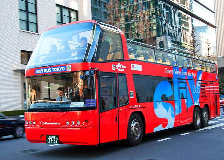 Hop On the Sky Bus and Explore Tokyo From Up Above!