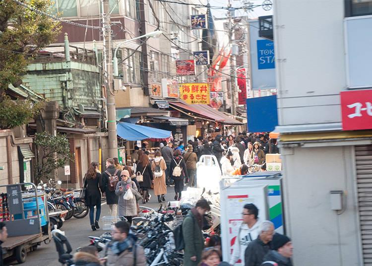 Major Sight #5 - Tsukiji Market