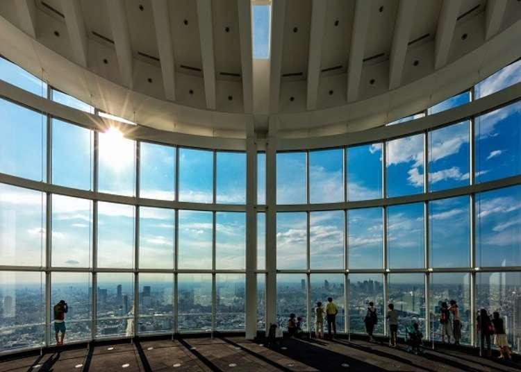 東京必看絕美街景!六本木新城展望台讓你能把東京的美一覽無遺