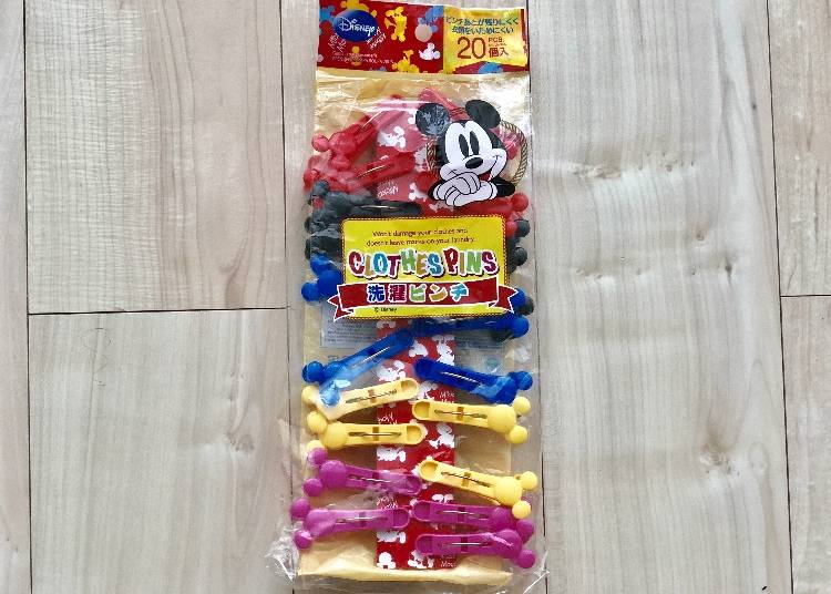 Mickey Mouse Clothespins