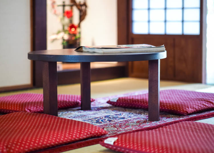 In Winter, A Lot Of Japanese Families Relax Under The U201ckotatsu.u201d That Is A  Low Table With A Thick Blanket Fixed Under The Tabletop, Equipped With An  ...