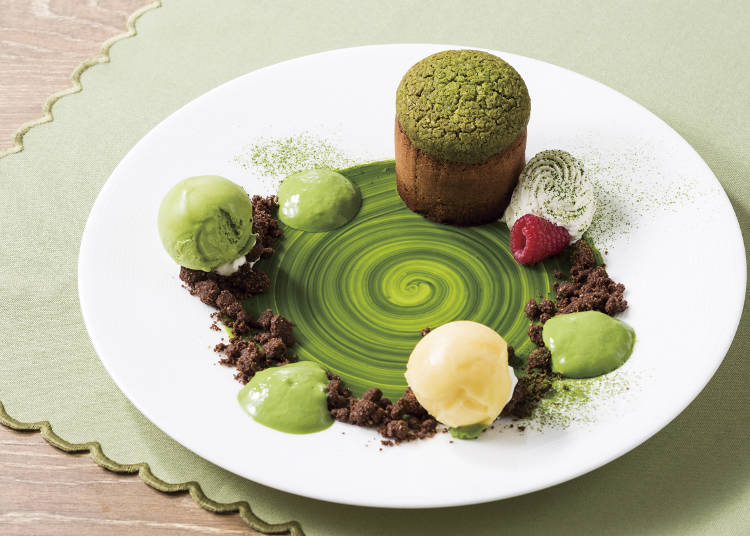 Need More Matcha in Your Life? Head to The Blue Brick Lounge in Aoyama To Try This Matcha Moelleux Au Chocolat!
