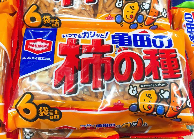 第1名:龜田製菓 龜田柿種米果(亀田の柿の種)