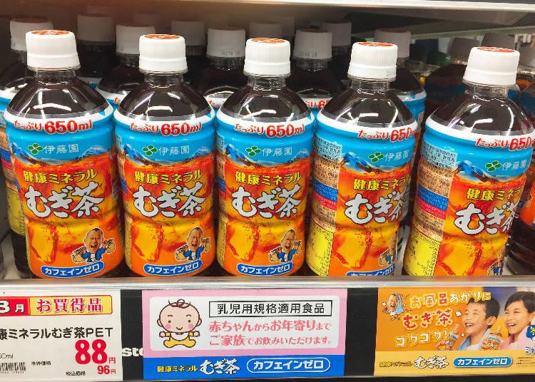 第3名 伊藤園 健康礦物質麥茶(健康ミネラルむぎ茶)