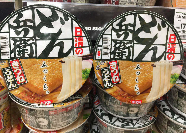 日本人的必買是這些!超市銷售人氣TOP10大公開:泡麵篇