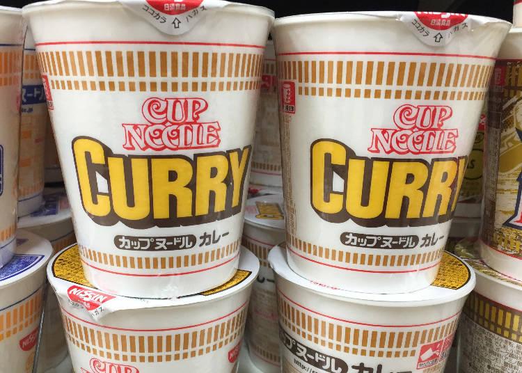 第6名:日清食品 Cup Noodle咖哩口味(カップヌードル カレー)
