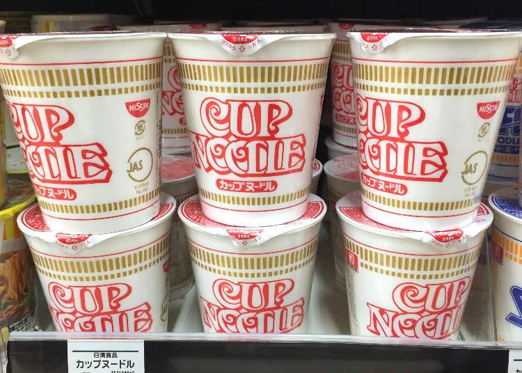 第1名:日清食品 Cup Noodle原味(カップヌードル)