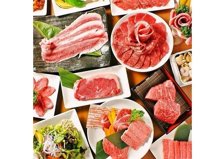 和牛玫瑰花園、霜降肉百匯任你吃!東京「肉屋の台所」春季期間限定2.5小時超值吃到飽方案