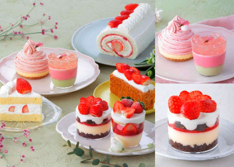 Spring is Coming: Cherry Blossom and Strawberry Sweets from Kihachi!