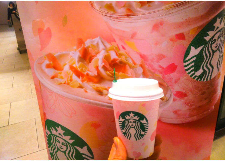 Sakura Season at Starbucks: Greet Spring with Cherry Blossom Drinks and Goodies from February 15!