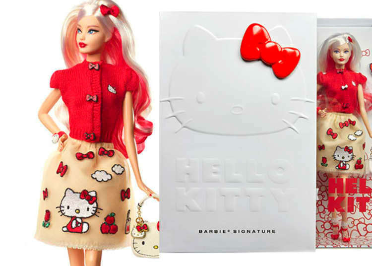 Sanrio and Mattel are bringing us a Barbie Hello Kitty Doll!