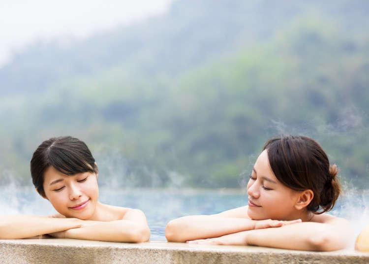 泡湯也要對症下藥!就用「泉質」決定下次的日本溫泉旅行吧!