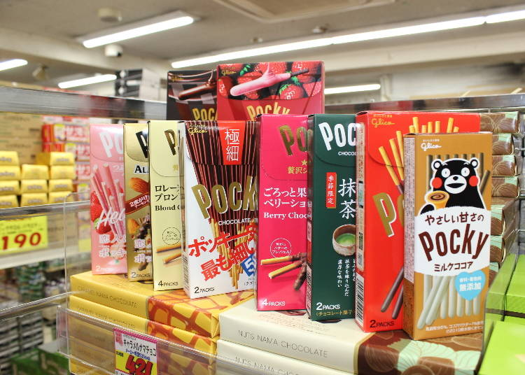 #6 Pocky – the Cute Classic