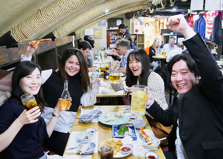 Enjoying Izakaya #1 – Making New Friends