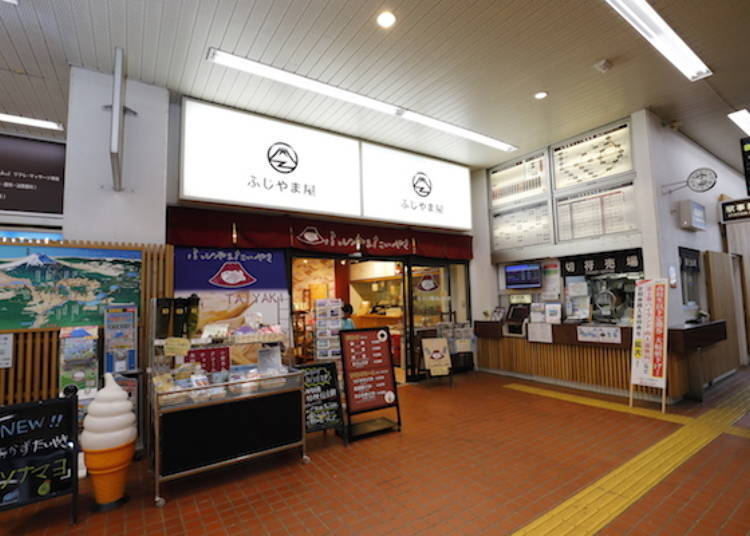 4. Delicious Dishes at Stations on the Fujikyuko Line