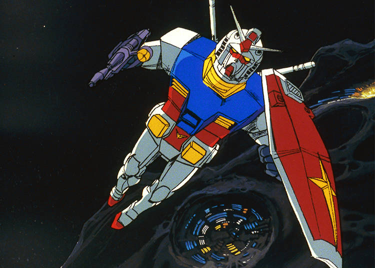 A Studio Riding to the Top, Piloting a Gundam