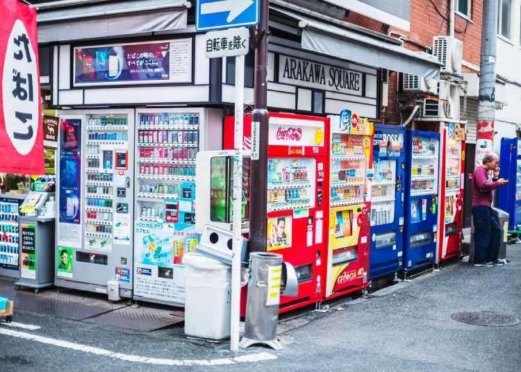일본의 종이팩 음료자판기에 대한 궁금증을 묻기 위해 meiji(메이지)에 찾아가다