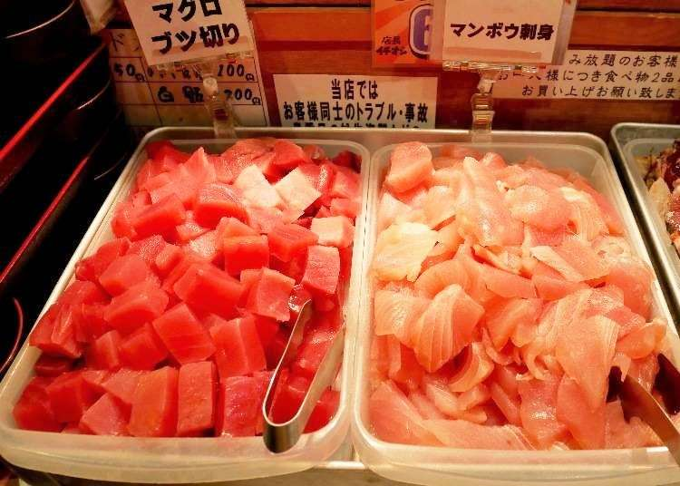 Numazuko Kaisho in Ueno: All-You-Can-Eat Seafood Delights for Just ¥1,200!