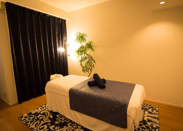 Sense Ginza: Relaxing Massages in a Beautiful Salon