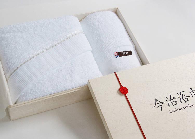 丸栄タオルの直営店。『今治浴巾 銀座店』