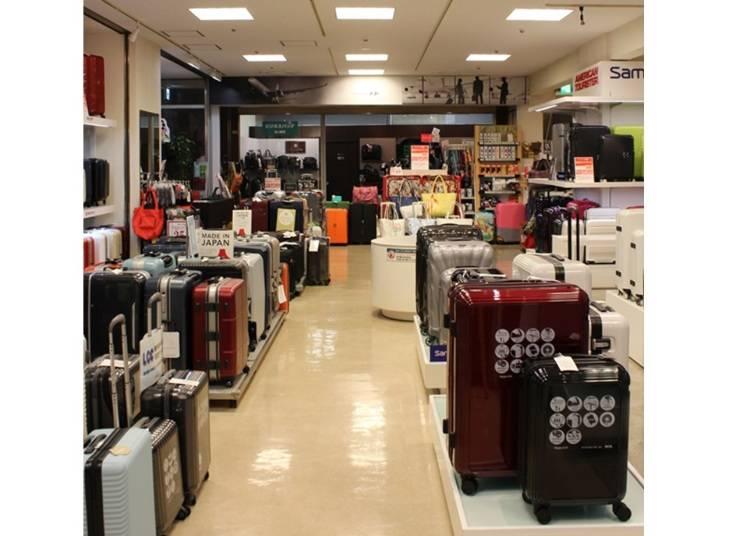 スーツケース・旅行用品専門店ならではの品揃え!『トコー有楽町店』
