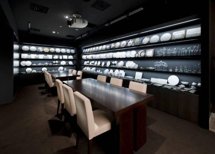 最高級のディナーウェアで上質な暮らしを!『ノリタケ・大倉陶園 銀座店』