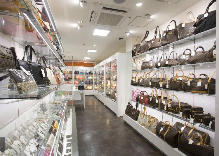 ブランド品をお得な価格で!『MIDORIYA銀座店』