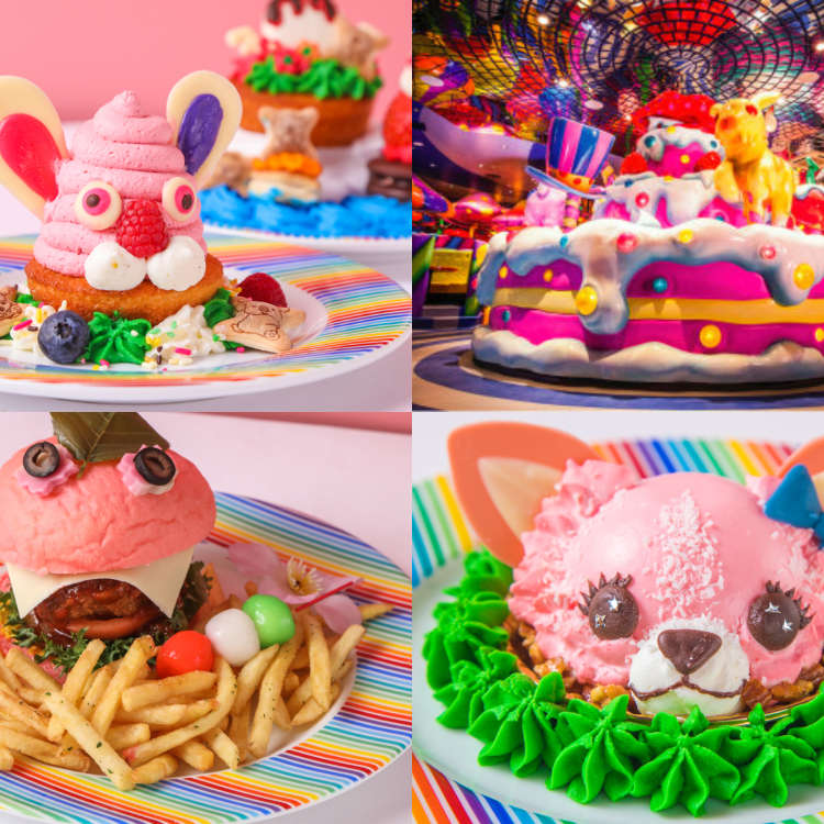 Celebrate Spring, Harajuku-Style: Kawaii Monster Cafe's All-New Spring and Easter Menu!