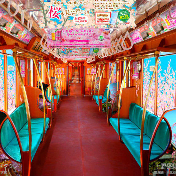 "Check Out Tokyo's ""Sakura Train"" This Spring!"