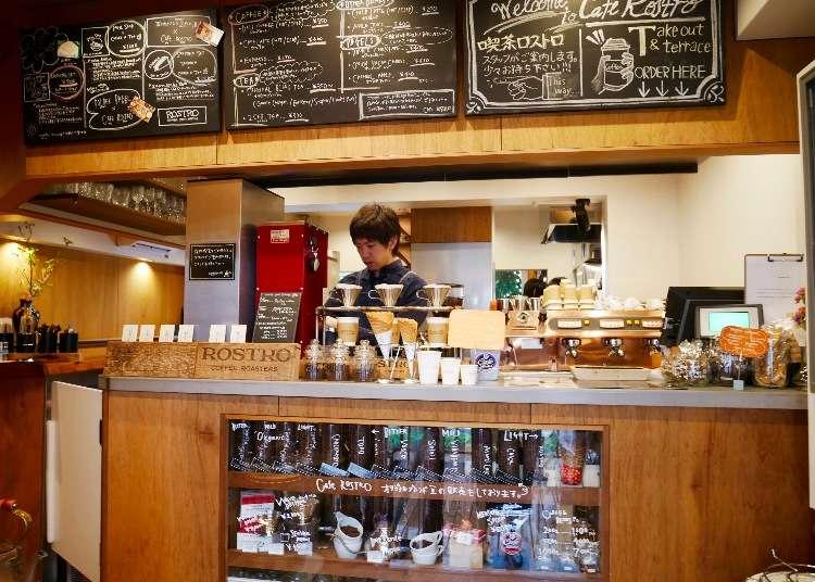 도쿄카페 - 도쿄에서 커피로 유명한 곳, 시부야 카페 로스트로(CAFE ROSTRO)