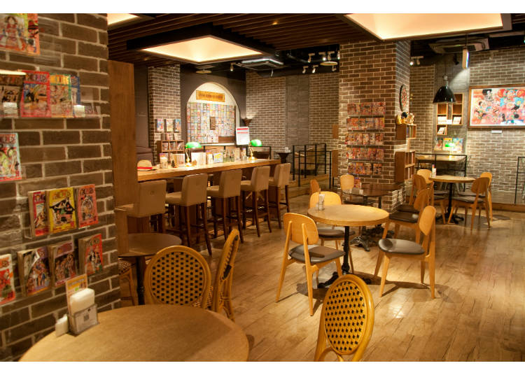 #12: 1st Floor (lowest floor) - Restaurants, Cafes, and Shops!