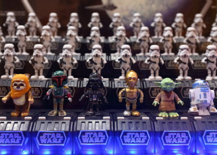 """No. 5: May the Force be with you! """"Star Wars Space Opera"""" characters"""