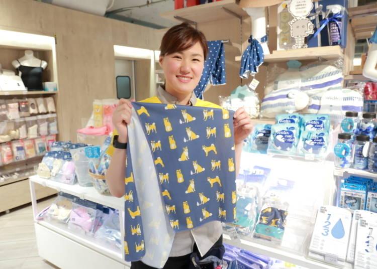 日本幾乎人手一條的涼感毛巾「COOL &UV 披肩涼感毛巾」