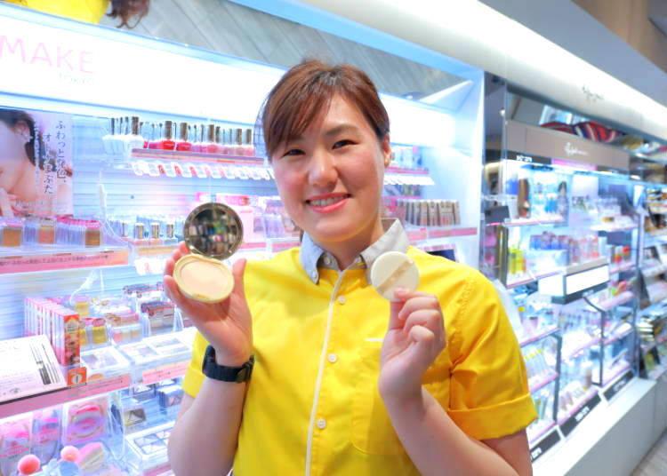 "#3 – ""Canmake Marshmallow Finish Powder Matte Ochre"" Makes Your Skin Glow for Little Money! (940 yen)"