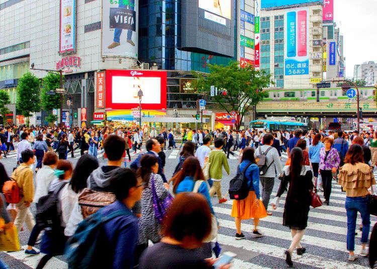 시부야 볼거리 - 도쿄 시부야 스크램블 교차로를 즐기는 10가지 방법!
