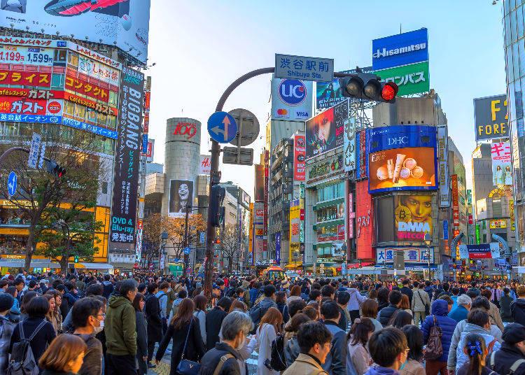 Secret #3: How Many Thousands of People Cross the Shibuya Scramble Daily?