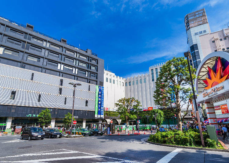 5. If Price is Your Main Concern then Look for Areas off the Beaten Path! Several Inexpensive Hotels are Clustered in the Senju and Kamata Areas!
